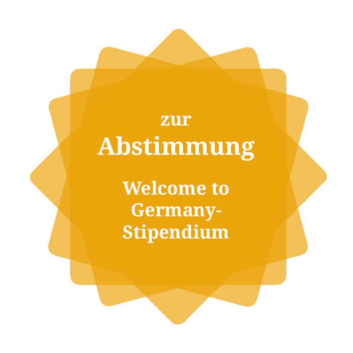 Stipendium Welcome to Germany